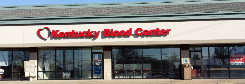 Kentucky Blood Center's Middletown Donor Center on Shelbyville Road in Louisville, Kentucky
