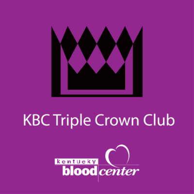 Kentucky Blood Center Triple Crown Club