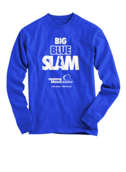 Kentucky Blood Center Big Blue Slam 2018 long-sleeve shirt