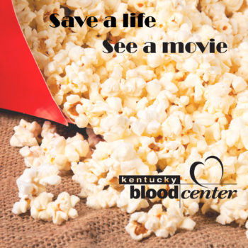 Movie passes at KBC donor centers
