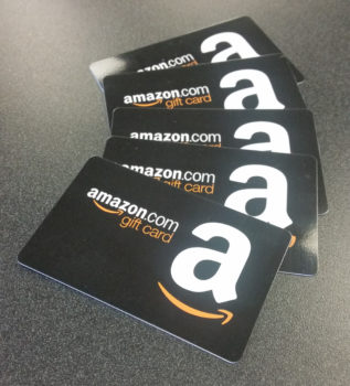 Amazon gift cards for Kentucky blood donors