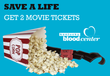 Movie passes for blood donors in Louisville, Kentucky