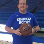 Kentucky Blood Center donor Jordan Heflin at Rupp Arena