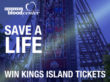 Kentucky Blood Center Kings Island ticket giveaway
