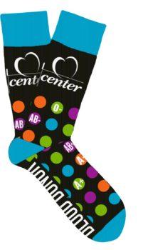 Kentucky Blood Center Socktober Socks